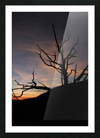New Mexico Sunrise Picture Frame print