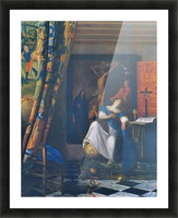 Allegory of Faith by Vermeer Picture Frame print