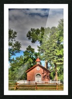 New Mexico Church Picture Frame print
