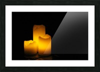 Light in the Dark Picture Frame print