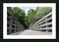 Rail to Trail Picture Frame print