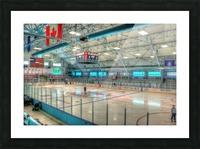 Calumet Hockeyville Picture Frame print