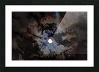 2017 Eclispe Picture Frame print
