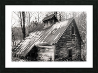 Abandoned Shack 6 Picture Frame print