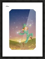 The Dazzling Flutist Picture Frame print