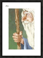 Gandalf Picture Frame print