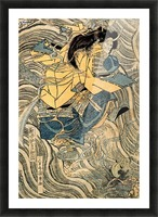 The ghost of Taira Tomomori, Daimotsu bay Picture Frame print