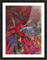 Animal Fates by Franz Marc Picture Frame print