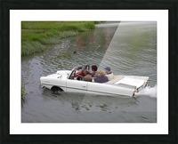 Amphicar model Unique amphibious model car Picture Frame print