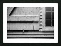 Shutter and Panes Picture Frame print