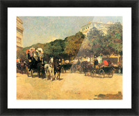 The day of the Grand Prize -2- by Hassam Picture Frame print
