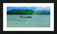 Samana Beach - Playa Rincon  Picture Frame print