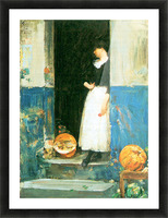 The fruit trader by Hassam Picture Frame print