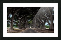 No Light At The End of Tunnel Picture Frame print