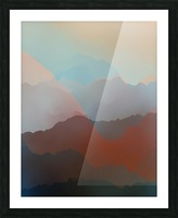 Beautiful Mountains 2 Picture Frame print