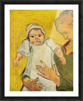 Augustine Roulin with her infant by Van Gogh Picture Frame print
