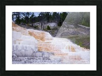 Yellowstone Lower Terrace Picture Frame print