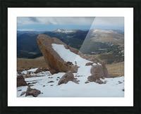 Pikes Peak Colorado  Picture Frame print