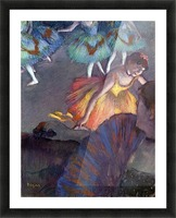 Ballet, from a box view by Degas Picture Frame print