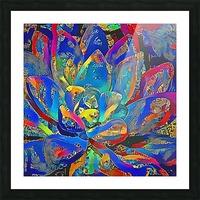 Succulent Jamboree Picture Frame print