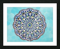 Yazd   Jameh mosque 2 Picture Frame print