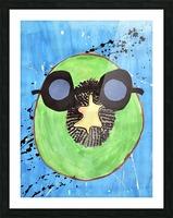 Kiwi Man. Michael D Picture Frame print