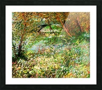 Banks of the Seine with Pont de Clichy in the Spring by Van Gogh Picture Frame print