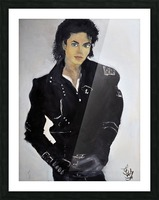 Michael_High_Res Picture Frame print