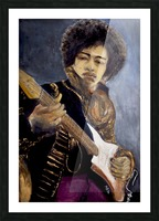 Jimi_High_Res Picture Frame print