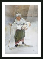 Old_Woman_High_Res Picture Frame print