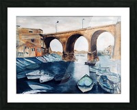 Marseille Picture Frame print