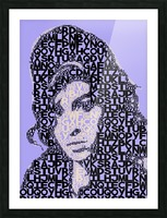 Amy Winehouse2 Picture Frame print