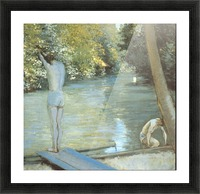 Bathers by Cailiebotte Picture Frame print