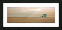 Beachbum blues Picture Frame print