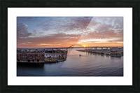 Sunrise Over Hoan Impression et Cadre photo