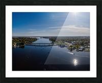 Bridges to Winneconne Impression et Cadre photo