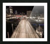 Milwaukee Bridge of The Past Picture Frame print