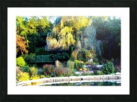 Reflections of a Monet Garden Picture Frame print