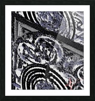 Glacial Motion, Glacial Drift Picture Frame print