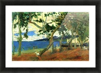 Beach Scene 2 by Gauguin Picture Frame print