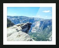 Glacier Point Yosemite Falls Picture Frame print