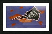 Rocket Ship Picture Frame print