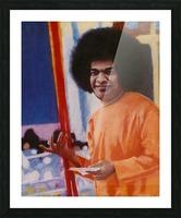 Sathya Sai Baba Picture Frame print