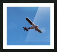 Flyover the  Prairie Picture Frame print