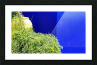 Marrakech on Blue Majorelle Picture Frame print