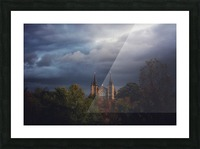 Divine Light Picture Frame print