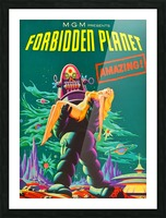 Forbidden Planet - Space Travel Picture Frame print