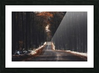 Tunnels Picture Frame print