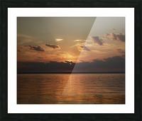 Georgian Sunrise Picture Frame print