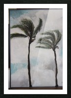 Palms Picture Frame print